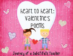 Valentine's Day Poems and a Freebie