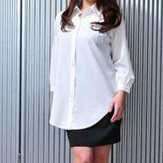 Amazon.co.jp: シンプルカジュアルシャツ レディースファッション: 服&ファッション小物
