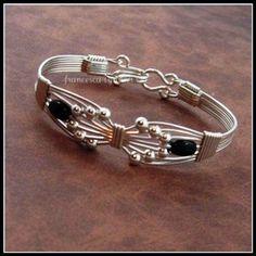 "JEWELRY TUTORIAL ""Wings"" Wire Wrapped Bracelet"