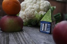 #house #paper #vegetable #paint