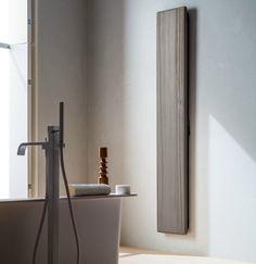 Wood effect Electric towel warmer Hito Collection by ARBLU Decorative Radiators, Panel Radiators, Italian Bathroom, Towel Warmer, Bathroom Furniture, Master Bath, Product Design, Electric, Collection
