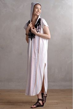 Amate Embroidered Caftan - anthropologie.com