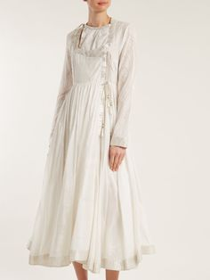 Click here to buy Etro Indore paisley-print cotton and silk-blend gown at MATCHESFASHION.COM