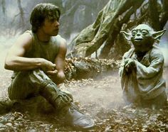 """Remember the little green Jedi -- Yoda, from """"Star Wars""""? Did you think his language was strange? Well you know what? Human languages may have originated from an East African Language which may have sounded very similar to Yoda. Citations Star Wars, Citations Film, Yoda Quotes, Movie Quotes, Quotes Pics, Wise Quotes, Quotable Quotes, Star Wars Film, Citation Yoda"""