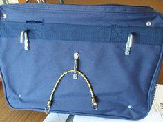 DIY bike bag backplate