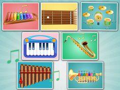 Kids Musical Instruments (iPhone/iPad app)