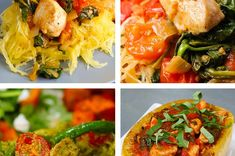 4 Spaghetti Squash Recipes - Perf for if your summer bod never came in.
