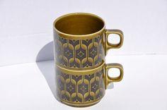 Vintage 1970's Hornsea Pottery Heirloom by FinchAvenueVintage