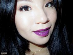 imladiiekay ♡ Beauty & Lifestyle Blog: MAC Heroine vs. MAC Pure Heroine ♥ Lipstick Review & Swatches