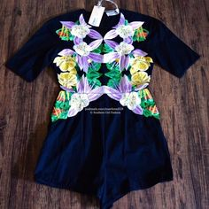 ALICE McCALL Romper Floral Embroidered Jumpsuit Size US 4, Euro 36 (XS).  New with tags.  $582 Retail + Tax.    Stunning floral embroidered romper with mid-length short sleeves and hidden back zip closure. Unlined, however not sheer.  Main: 100% Cotton. Embroidery: 100% Rayon.      ❗️ No trades, holds or modeling.    Bundle 2+ items for a 20% discount!    Stop by my closet for even more items from this brand!  ✔️ Items are priced to sell, however reasonable offers will be considered when…