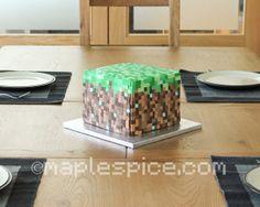 minecraft base cake
