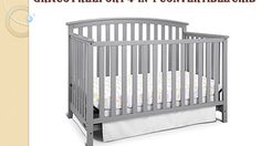 Ultimate Guide of Graco Freeport 4-in-1 Convertible Crib, Pebble Gray Re...