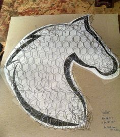 Springtime Horse Head Wreaths The Effective Pictures We Offer You About rock Crafts A quality pictur Mesh Wreath Tutorial, Diy Wreath, Wreaths Crafts, Ornament Wreath, Ornaments, Head Wreaths, Deco Mesh Wreaths, Door Wreaths, Christmas Door