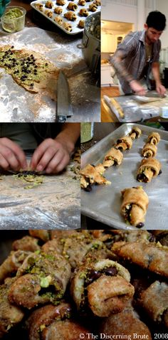 The Discerning Brute: fashion, food & etiquette for the ethically handsome man » Blog Archive » Chocolate & Cinnamon Vegan Rugelach