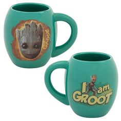 Guardians of the Galaxy Vol. 2 Groot 18 oz. Ceramic Oval Mug - Vandor - Guardians of the Galaxy - Mugs at Entertainment Earth