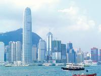 香港の街並みとビクトリア・ハーバー