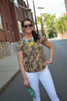 Transition Tuesday: White Jeans