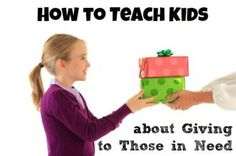 Teaching Teens about Giving to Others