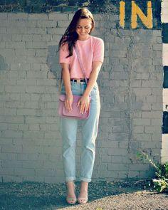 Tonos pasteles. #Fashion #Moda #Tendencia #Style