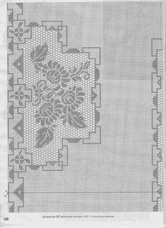 Inspirações de Croche com Any Lucy: Toalha de Mesa