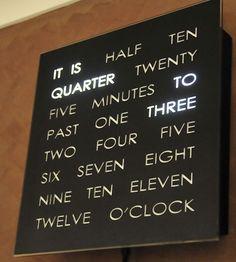 the lazy clock