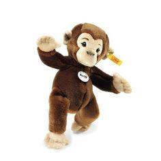 Koko chimpanzee - Wild Animals - Cuddly Animals for Kids - Cuddly Animals