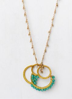 Noonday Collection - Made by women escaping poverty. Love it ALL! Mediterranean Sea Necklace