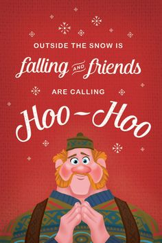 Because we love you, please accept these lovely Frozen holiday cards as our gift to you. Feel free to pass them around and spread the holiday cheer. We wish you a merry Kristoffmas!