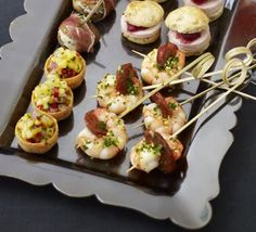 Prawn & Chorizo Skewers With Gremolata Recipe on Yummly. @yummly #recipe