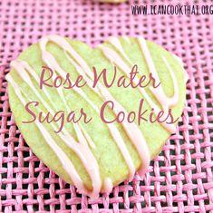 Rose Water Sugar Cookies