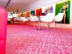 Karim Rashid's fluid style and impressive contemporary art on display, completes the perfect ambiance at Semiramis Restaurant! Athens Airport, Karim Rashid, Best Hotels, Contemporary Art, Restaurant, Display, Design, Style, Floor Space