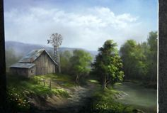 Take a trip to this old country barn. Watch Kevin as he paints this scenic country painting with a stream. For tips about painting, go to www.paintwithkevin.com