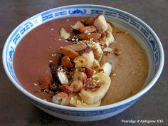 Les gourmandises de Lydie: Porridge d'Antigone XXI