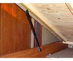 Small for RV Hatchlift BLK-SM Bedlift Kit