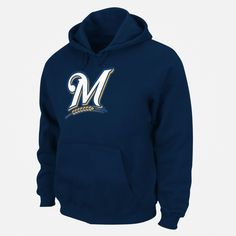 MLB Mens Milwaukee Brewers Hoodie Sweatshirt | Shopko.com