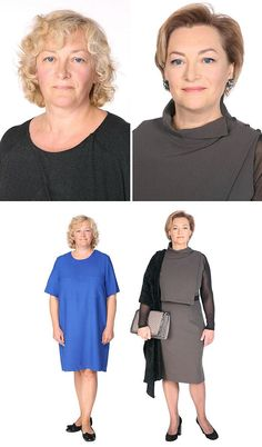 35 Incredible Transformations That Show How Ordinary People Can Dramatically Improve Their Looks Beauty Makeover, Extreme Makeover, One Suitcase Outfits, Russian Image, Mein Style, Plus Size Fashion For Women, Glamour Photography, Fashion Over 40, Wig Hairstyles