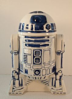 Vintage Star Wars R2-D2 Cookie Jar / 1977 Original . My aunt used to own this,i always remember seeing it at her house when i was growing up! i'd love to collect vintage cookie jars