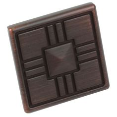 Update your kitchen cabinets or bathroom vanities with these beautiful Craftsman Series square cabinet knobs. These zinc alloy knobs come in a case of 25 and include installation screws.