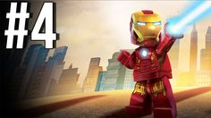 Lego Marvel Superheroes Walkthrough Part 4 Let's Play Gameplay Playthrou...
