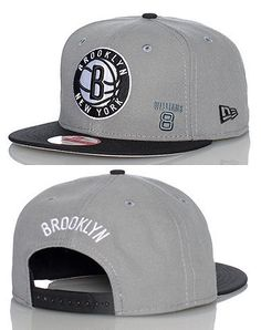 NEW ERA Basketball snapback cap Adjustable strap on back of hat for ultimate comfort Embroidered Brooklyn Nets team logo on front Jimmy Jazz Exclusive