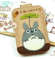 Felt Totoro case