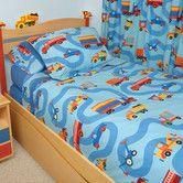 Found it at Wayfair - Boys Like Trucks Comforter Set