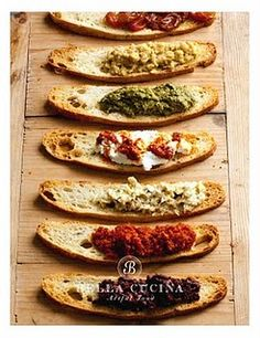 Crostini & spreads
