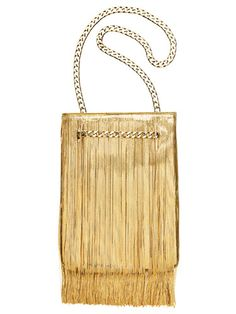 A fringe bag that drips with style.   Givenchy by Riccardo Tisci bag.