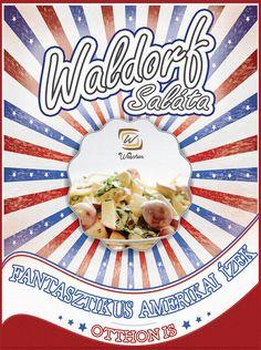 Egy egyszerű salátára vágysz? Akkor ez lesz a nyerő... Készítsd el gyorsan és könnyedén az amerikai Waldorf Salátát! 👉 Recept a Wescher-en! Vaj, Bread, Food, Brot, Essen, Baking, Meals, Breads, Buns