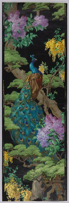The Cedar Tree (1910). Wallpaper designby Arthur Sanderson & Sons, Ltd.