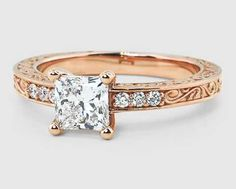 """Specializing in """"ethically sourced"""" jewelry, Brilliant Earth was founded in 2000 by Stanford alumni Beth Gerstein and Eric Grossberg. I Love Jewelry, Jewelry Box, Jewelry Accessories, Jewlery, Bridal Jewelry, Rose Gold Diamond Ring, Princess Cut Engagement Rings, Diamond Are A Girls Best Friend, Just In Case"""