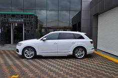 Praguri laterale / Side steps Audi Q7 Audi Q7, Artemis, 4x4, Vehicles, Black, Style, Cool Cars, Swag, Black People