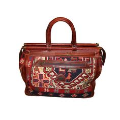 Turkish Delights Kilim Tavel Bag now featured on Fab.
