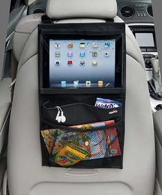 Love this over the seat car organizer for Ipad from